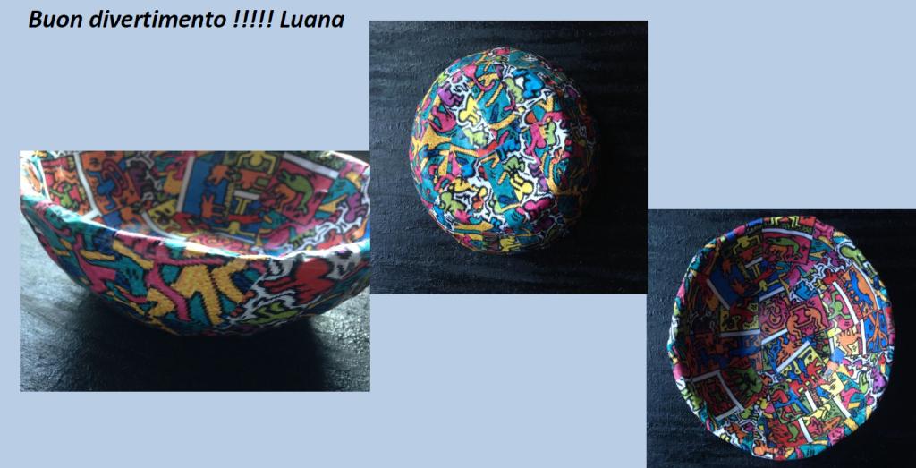 Le ciotole di carta di Luana Santalucia