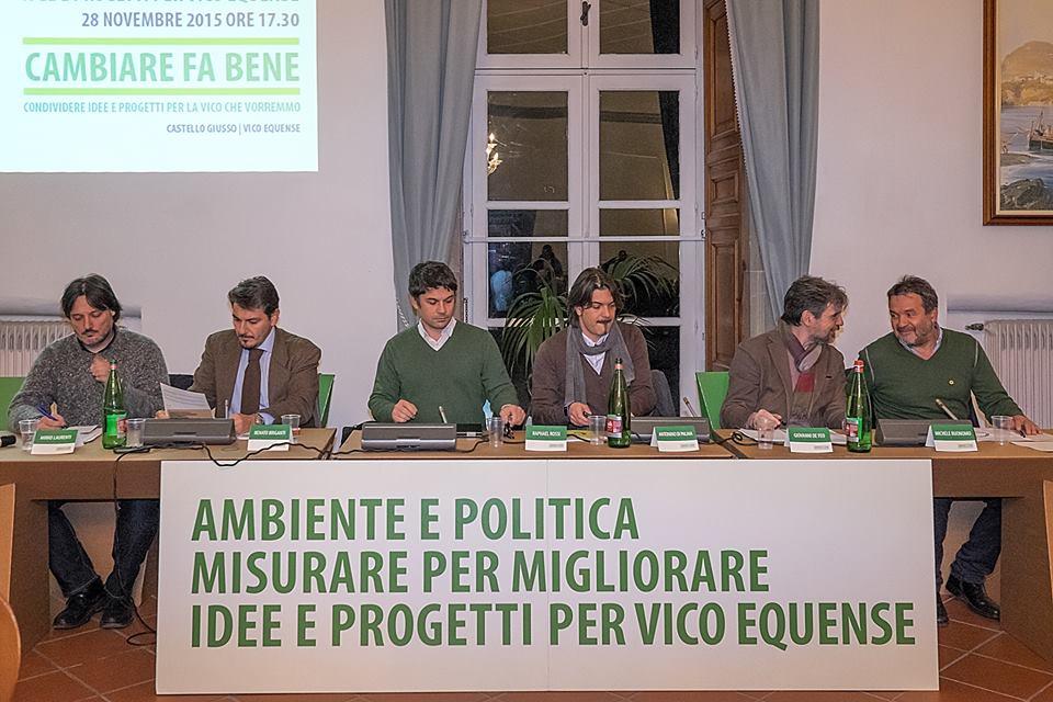 CAMBIARE FA BENE - Il tavolo dei relatori all'inizio del Convegno