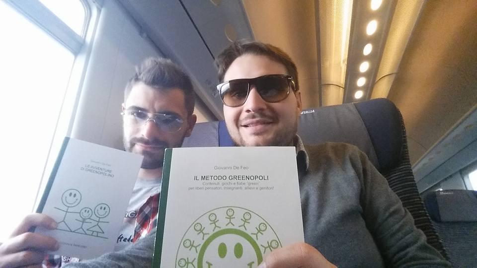 """""""Il metodo Greenopoli"""" e """"Le avventure di Greenopolino"""" in viaggio vero il Palacomieco di Reggio Calabria"""