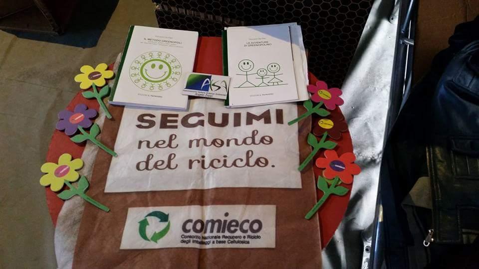 """""""Il metodo Greenopoli"""" e """"Le avventure di Greenopolino"""" insieme ad AISA e Comieco a Reggio Calabria!"""