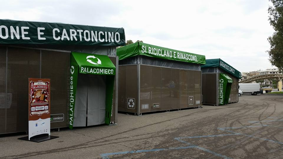 Il Palacomieco a Reggio Calabria.