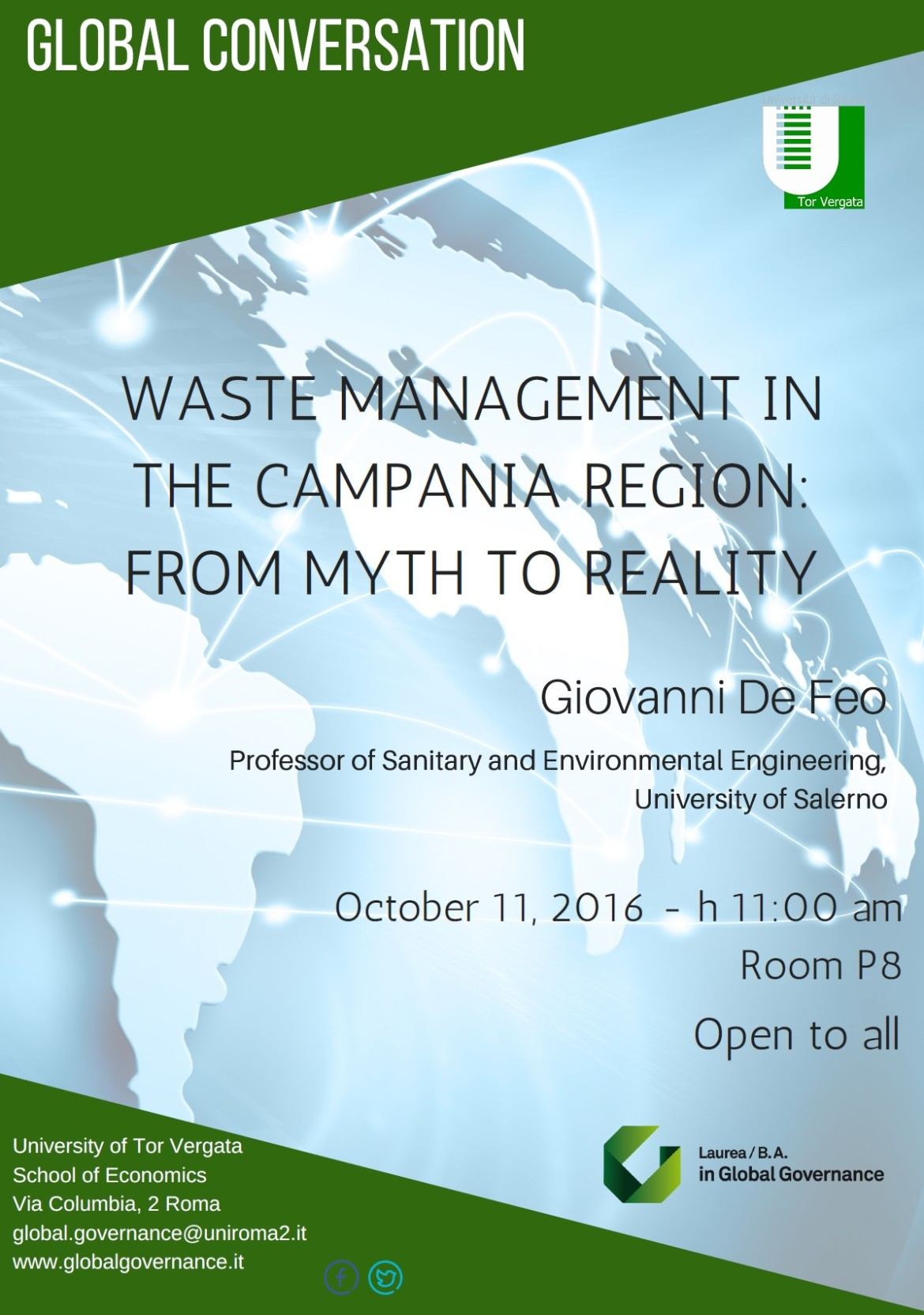 WASTE MANAGEMENT IN THE CAMPANIA REGION: FROM MYTH TO REALITY