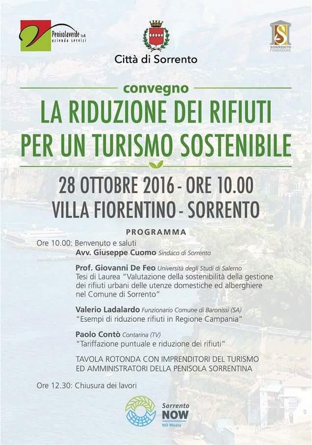 Riduzione dei rifiuti per un turismo sostenibile
