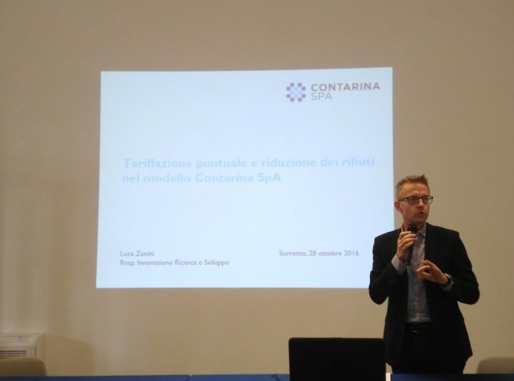 Dott. Luca Zanini, Contarina