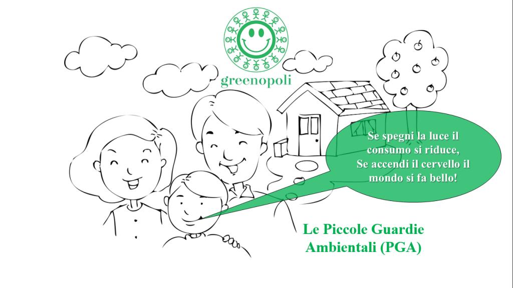 Le Piccole Guardie Ambientali (PGA) di Greenopoli